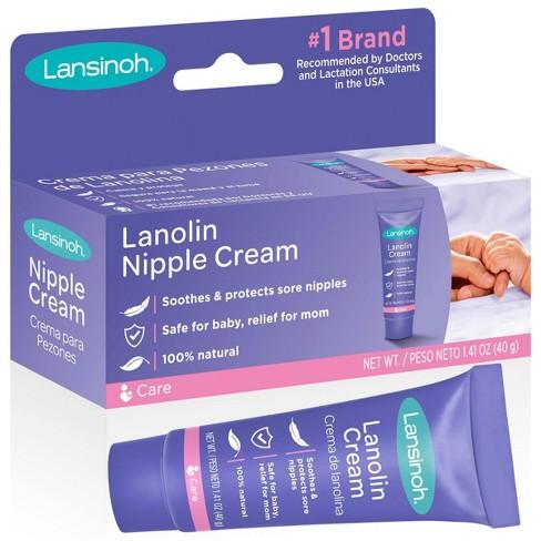 Lansinoh Lanolin Nipple Cream for Nursing - 1.41oz - image 1 of 4