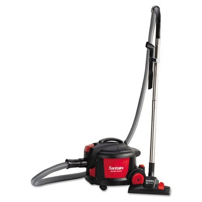Sanitaire SC3700A EXTEND 9 Amp Top-Hat 11 in. Canister Vacuum - Red/Black