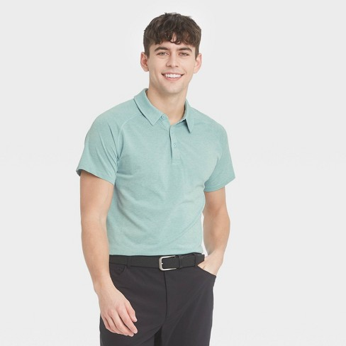 Men's Seamless Polo Shirt - All in Motion™ - image 1 of 4