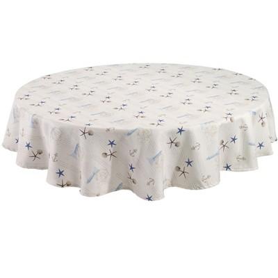 """Avanti Antigua 70"""" Round Tablecloth Round - Multicolored"""