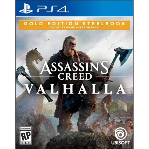 Assassin S Creed Valhalla Gold Edition Steelbook Playstation 4
