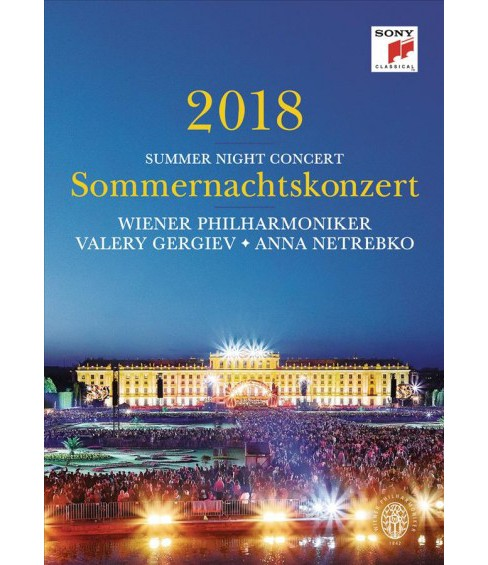 Sommernachtskonzert 2018/Summer Night (DVD) - image 1 of 1