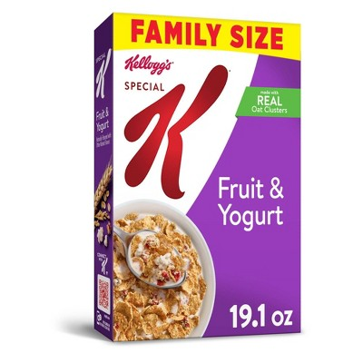 Special K Fruit and Yogurt Breakfast Cereal - 19.1oz - Kellogg's