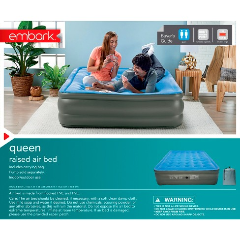 embark queen air mattress Double High Raised Queen Air Mattress   Embark™ : Target embark queen air mattress