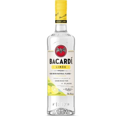 Bacardi Limon Citrus Flavored Rum - 750ml Bottle
