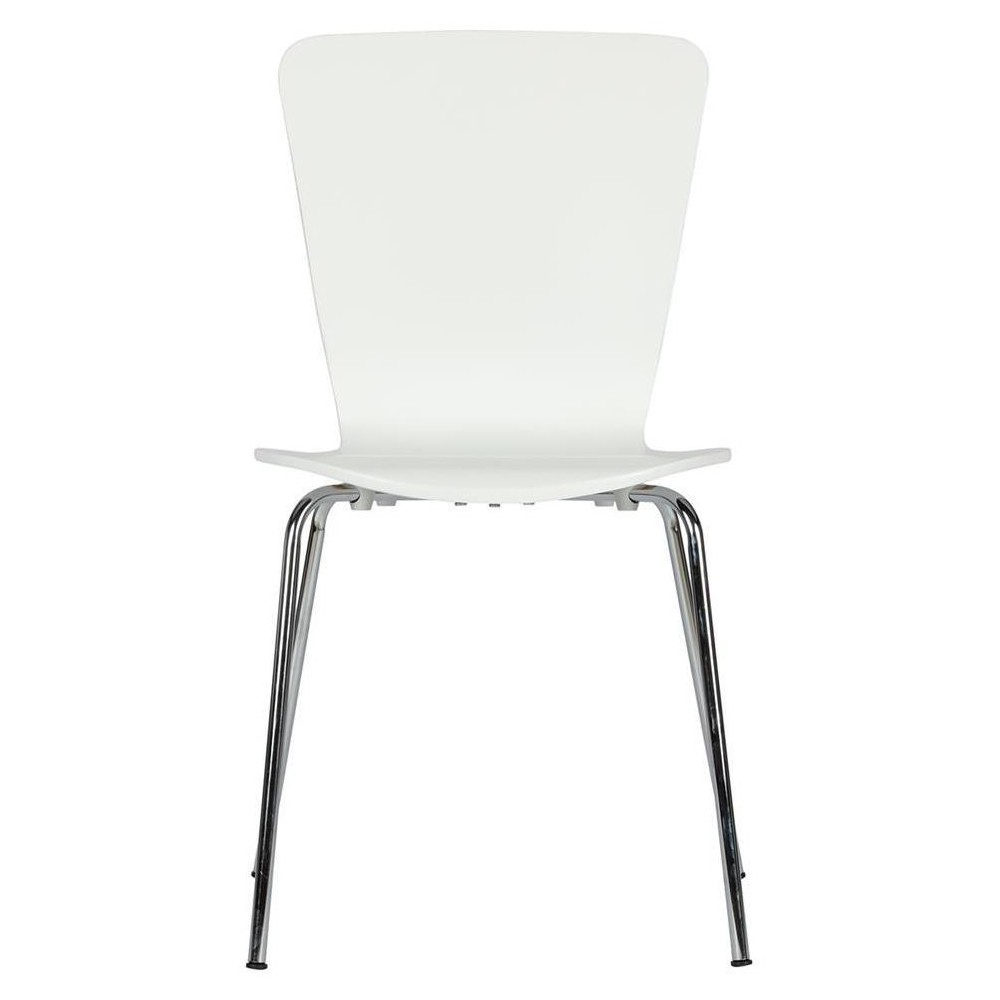 Bentwood Dining Chairs (Set of 2) - White - Dorel Home Products