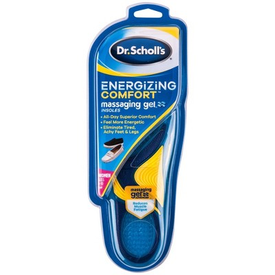 Dr. Scholl's Comfort & Energy Massaging Gel Advanced Insoles for Women - Size (6-10)