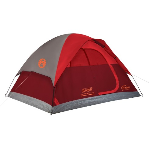 Coleman® Flatwoods II 4 Person Tent - Red
