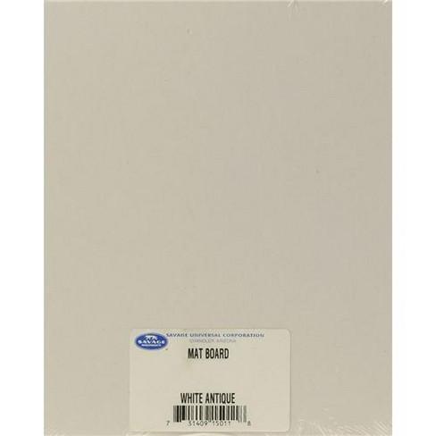 Savage 11x14  Cut-Size ProCore Mat and Mount Board, White/Creme Smooth, 100 Sheet/Carton - image 1 of 1