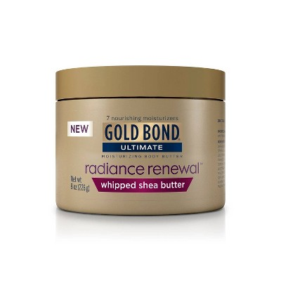 Body Lotions: Gold Bond Radiance Renewal Whipped Shea Butter