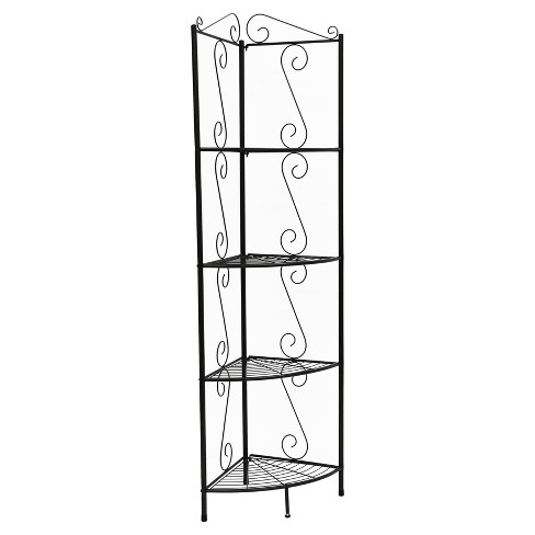"Bookcase with Corner Étagère 60"" - EveryRoom® - image 1 of 2"