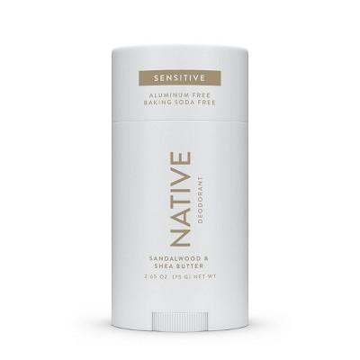 Native Sensitive Sandalwood & Shea Deodorant for Men - 2.65oz