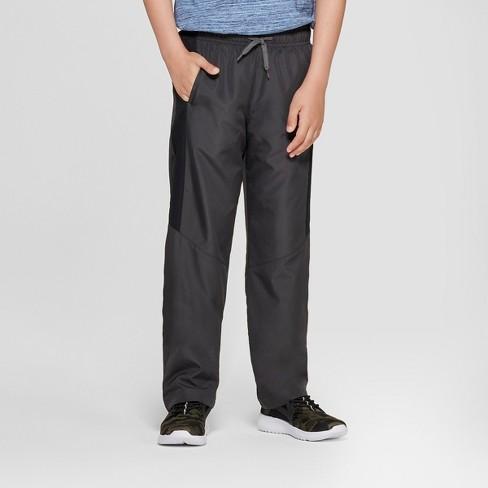Boys' Activewear Pants - Cat & Jack™ Gray - image 1 of 3