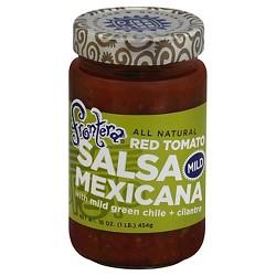 Frontera All Natural Red Tomato Mexicana Salsa Mild 16 oz