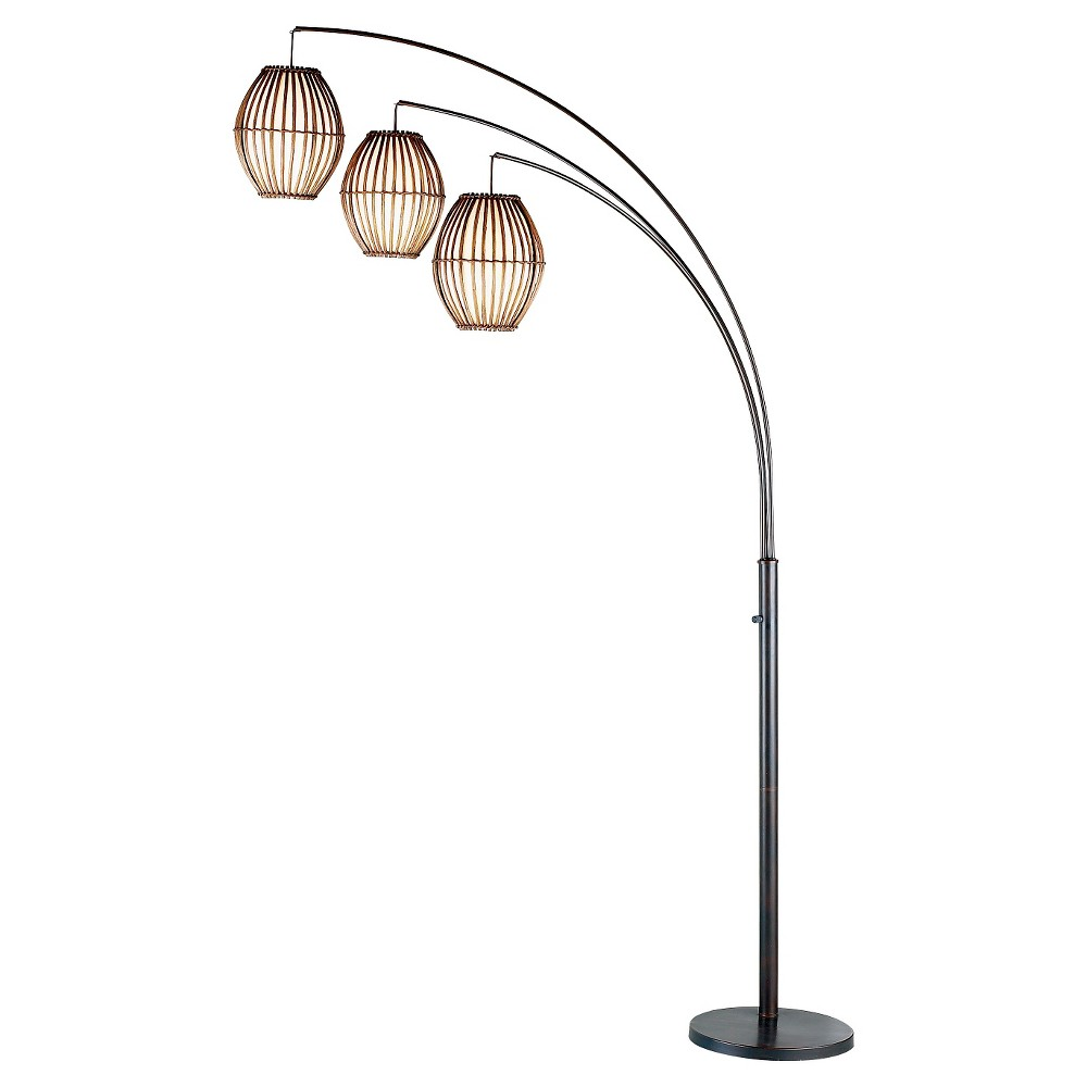 Image of Adesso Maui Arc Lamp - Brown