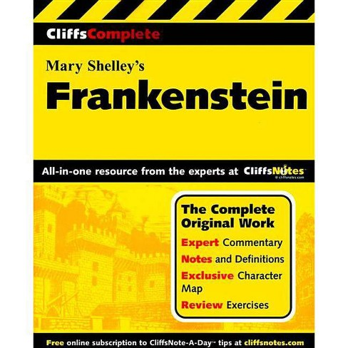 Shelley's Frankenstein - (Cliffs Complete) by  Anca Munteanu & Mary Shelley (Paperback) - image 1 of 1
