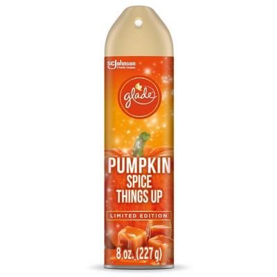 Glade 8 Oz Aerosol- Pumpkin Spice Things Up
