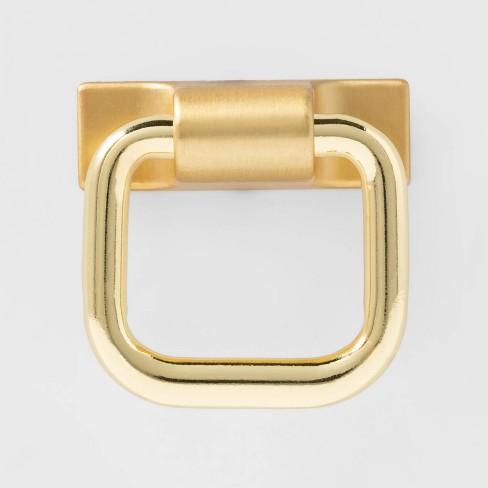 2pk Bail Pull Brass - Threshold™ - image 1 of 2