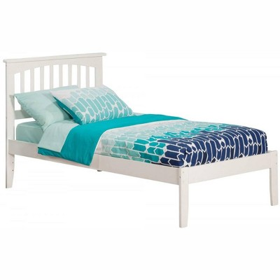 Mission Twin Bed in White - Atlantic Furniture