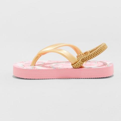 c4825f18cb22 Toddler Girls  Keira Unicorn Flip Flop Sandals - Cat   Jack™ Pink ...
