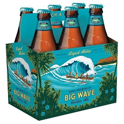 Kona Big Wave Golden Ale Beer - 6pk/12 fl oz Bottles