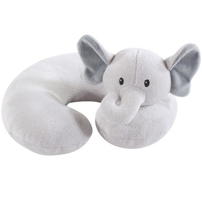 Hudson Baby Infant and Toddler Unisex Neck Pillow, Gray Elephant, One Size