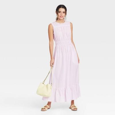 Women's Sleeveless Smocked Waist Dress - A New Day™