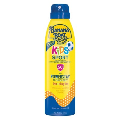 Sunscreen & Tanning: Banana Boat Kids Sport
