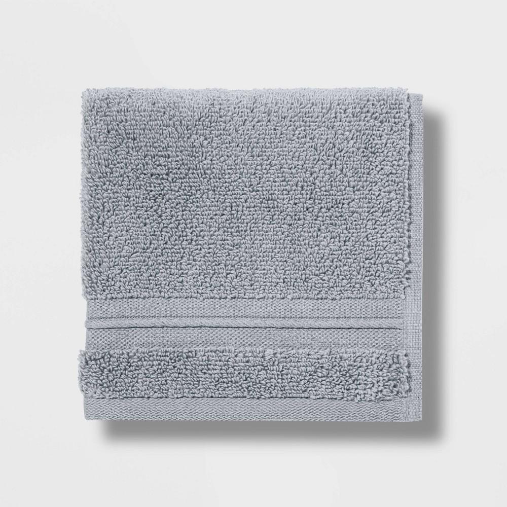 Spa Washcloth Light Gray - Threshold Signature Best