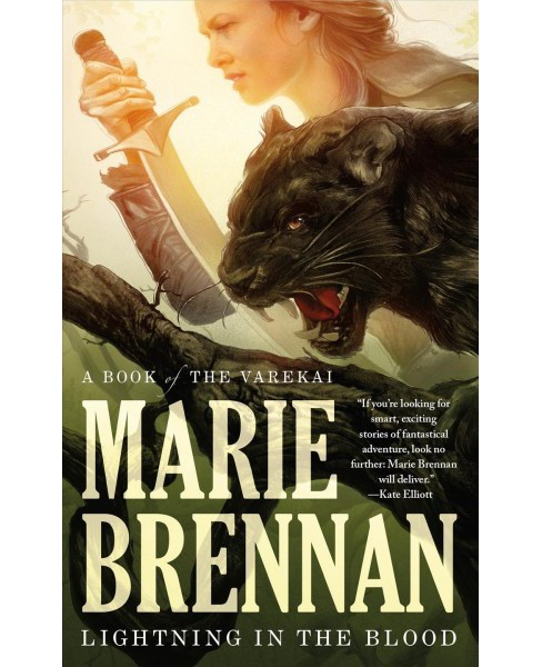 Lightning in the Blood (Paperback) (Marie Brennan) - image 1 of 1