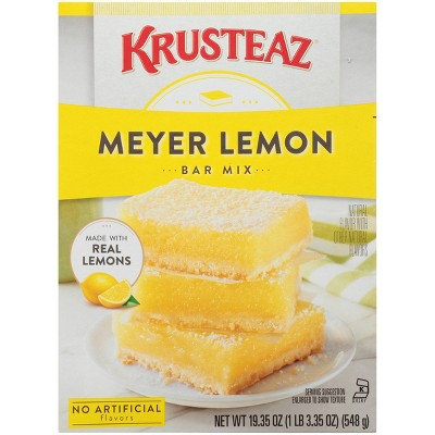 Baking Mixes: Krusteaz Meyer Lemon Bar Mix