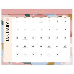 2020 Large Desk Calendar White - Create & Cultivate