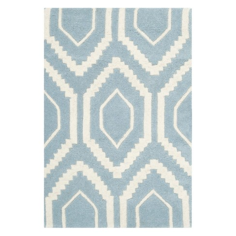 Kay Geometric Tufted Accent Rug - Safavieh - image 1 of 2