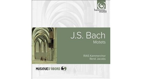 Rene Jacobs - Bach:Motets (CD) - image 1 of 1