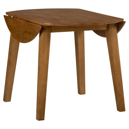Simplicity Round Wooden Drop Leaf Dining Table - Jofran Inc.