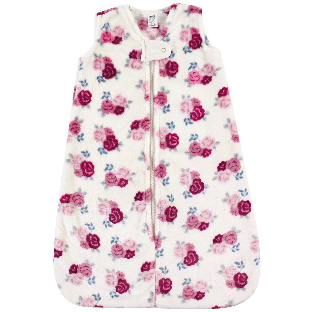 Hudson Baby Unisex Baby Plush Sleeping Bag Sack Blanket Floral 12 18 Months