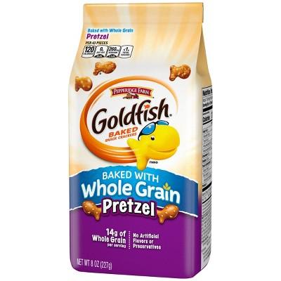 Pepperidge Farm Goldfish Whole Grain Pretzel Crackers - 8oz