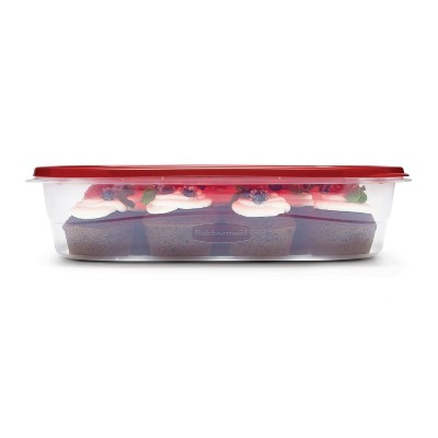 Rubbermaid TakeAlongs Food Storage Containers - 1 Gallon Rectangle - 5pk