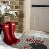 tag Winter Sketch Bear Coir Mat Renewable Coconut Fiber Doormat Christmas Xmas Holiday - image 2 of 4