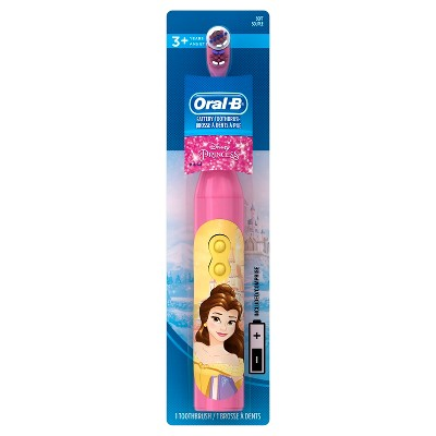 Oral-B Pro-Health Stages Kids Battery Toothbrush featuring Disney Princess with Disney MagicTimer App by Oral-B - 1ct