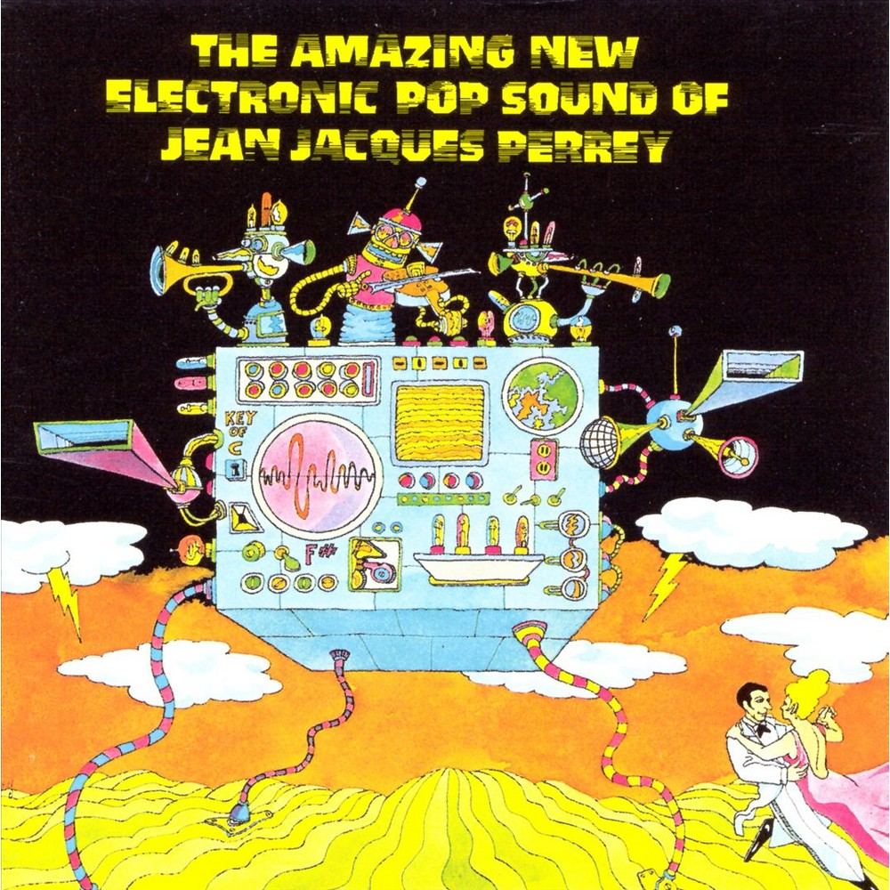 Jean Jacques Perrey The Amazing New Electronic Pop Sound Of Jean Jacques Perrey Cd