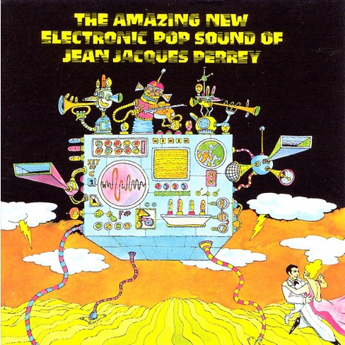 Jean Jacques Perrey - Amazing New Electric Sound of Jean Jacques Perrey (CD) - image 1 of 1
