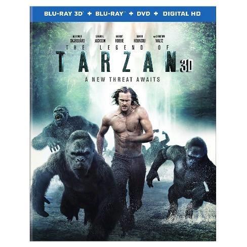 Legend of Tarzan, The (3D + Blu-ray + DVD + Digital) - image 1 of 1