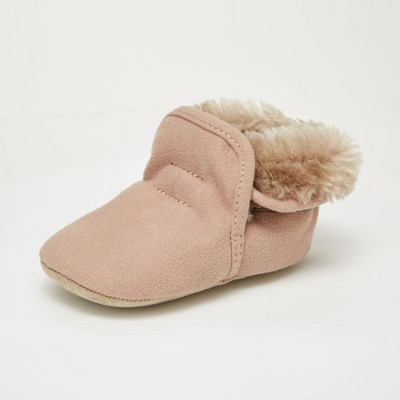 Baby Girls' Surprize by Stride Rite Charlie Boots - Brown 6-12M