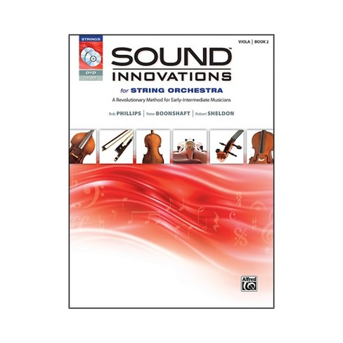 Alfred Sound Innovations for String Orchestra Book 2 Viola Book CD/DVD - image 1 of 1