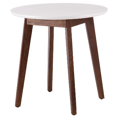 Oden Dining Table Wood/White - Holly & Martin