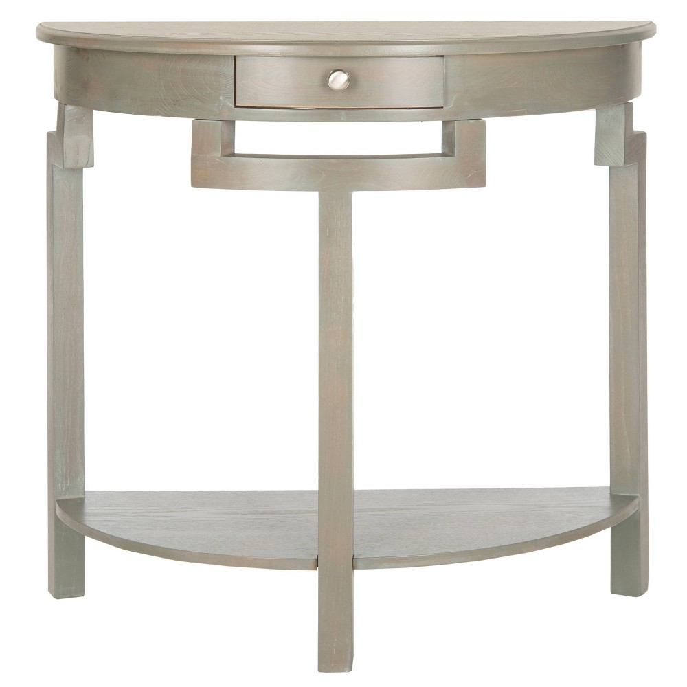 Liana Console Table - Vintage Gray - Safavieh