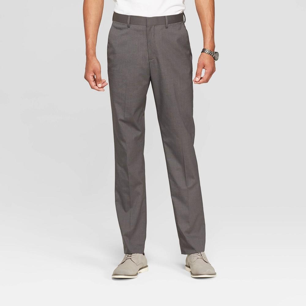 Men's 34 Slim Fit Suit Pants - Goodfellow & Co Charcoal (Grey) 38x34
