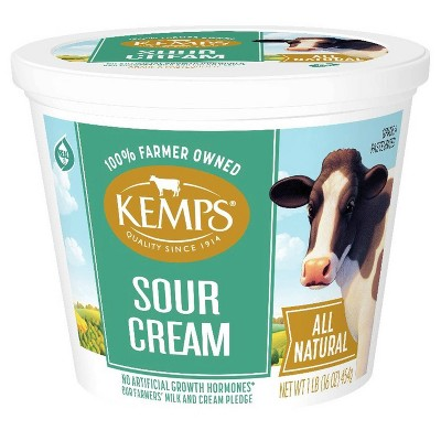 Kemps Smooth and Creamy Sour Cream - 16oz