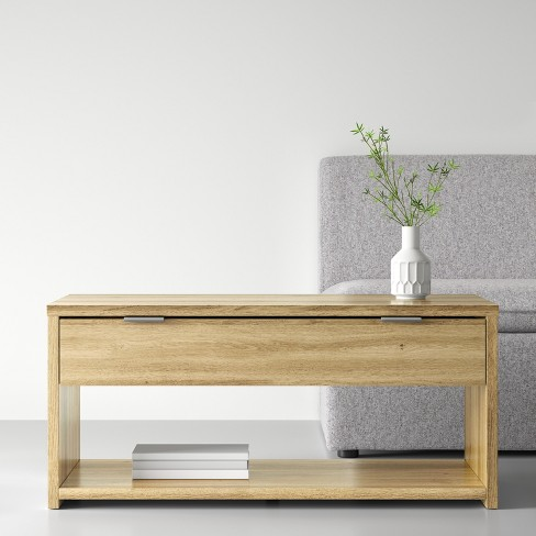 Coffee Table With Drawer Natural Made By Design Target